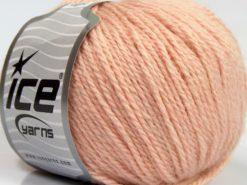 Lot of 8 Skeins Ice Yarns ALPACA LIGHT (18% Alpaca 20% Wool) Yarn Powder Pink