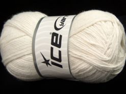 Lot of 4 x 100gr Skeins Ice Yarns BAMBOO BABY (60% Bamboo) Yarn Ecru