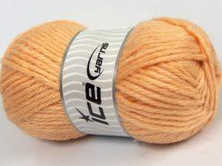 Lot of 4 x 100gr Skeins Ice Yarns ALPACA SUPERBULKY (25% Alpaca Superfine 25% Organic Merino Wool) Yarn Light Gold