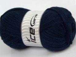 Lot of 4 x 100gr Skeins Ice Yarns ALPACA SUPERBULKY (25% Alpaca Superfine 25% Organic Merino Wool) Yarn Navy