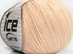 Lot of 8 Skeins Ice Yarns MILANO FINE (10% Baby Alpaca 15% Kid Mohair) Yarn Light Pink