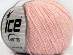 Lot of 8 Skeins Ice Yarns MILANO FINE (10% Baby Alpaca 15% Kid Mohair) Yarn Light Salmon