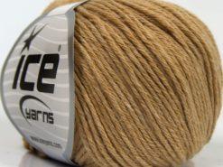 Lot of 8 Skeins Ice Yarns MILANO DK (10% Baby Alpaca 15% Kid Mohair) Yarn Milky Brown