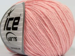 Lot of 8 Skeins Ice Yarns MILANO DK (10% Baby Alpaca 15% Kid Mohair) Yarn Baby Pink