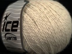 Lot of 6 Skeins Ice Yarns ANGORA CASHMERE (20% Cashmere 40% Angora) Yarn Light Beige