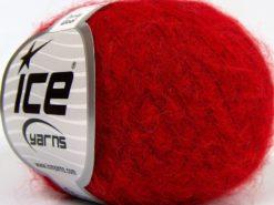 Lot of 10 Skeins Ice Yarns DUSTY WOOL (32% Wool 1% Elastan) Yarn Dark Red