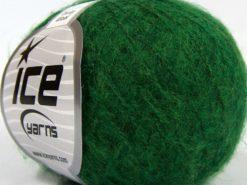 Lot of 10 Skeins Ice Yarns DUSTY WOOL (32% Wool 1% Elastan) Yarn Dark Green