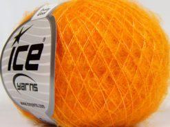 Lot of 10 Skeins Ice Yarns DUSTY WOOL (32% Wool 1% Elastan) Yarn Gold