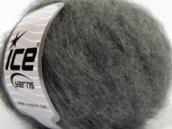 Lot of 8 Skeins Ice Yarns KAN MOHAIR (20% Mohair 25% Wool) Yarn Grey