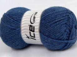 Lot of 4 x 100gr Skeins Ice Yarns Bulky ATLAS Hand Knitting Yarn Dark Blue