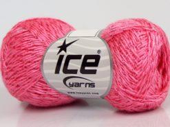 Lot of 8 Skeins Ice Yarns SALE METALLIC Hand Knitting Yarn Pink