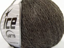 Lot of 8 Skeins Ice Yarns SALE WINTER (40% Wool) Hand Knitting Yarn Dark Camel