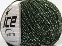 Lot of 8 Skeins Ice Yarns SALE LUXURY-PREMIUM (15% Alpaca 20% Wool) Yarn Dark Green