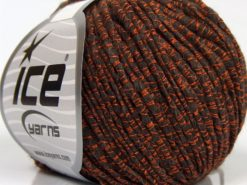 Lot of 8 Skeins Ice Yarns SALE LUXURY-PREMIUM (15% Alpaca 20% Wool) Yarn Dark Brown