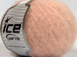 Lot of 8 Skeins Ice Yarns GARZATO COMFORT (2% Elastan) Yarn Baby Pink