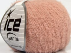 Lot of 8 Skeins Ice Yarns TECHNO FINE Hand Knitting Yarn Antique Pink