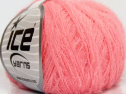Lot of 8 Skeins Ice Yarns TECHNO FINE Hand Knitting Yarn Candy Pink