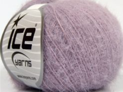 Lot of 8 Skeins Ice Yarns TECHNO FINE Hand Knitting Yarn Lilac