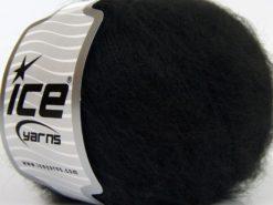Lot of 8 Skeins Ice Yarns SALE WINTER (17% Wool 3% Elastan) Yarn Black