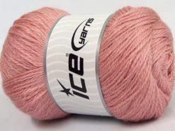 Lot of 4 x 100gr Skeins Ice Yarns NORSK FINE (45% Alpaca 25% Wool) Yarn Baby Pink