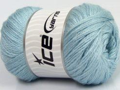 Lot of 4 x 100gr Skeins Ice Yarns NORSK FINE (45% Alpaca 25% Wool) Yarn Baby Blue