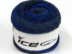 Lot of 2 x 150gr Skeins Ice Yarns CAKES ALPACA WORSTED (20% Alpaca 25% Wool) Yarn Blue Black Purple