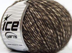 Lot of 8 Skeins Ice Yarns ALPACOT (13% Alpaca 15% Wool) Yarn Dark Brown