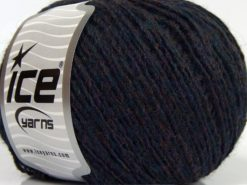 Lot of 8 Skeins Ice Yarns PERU ALPACA LIGHT (25% Alpaca 50% Merino Wool) Yarn Dark Navy