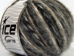 Lot of 8 Skeins Ice Yarns ALPACA COLORS (20% Alpaca 50% Wool) Yarn Black Grey Camel Cream
