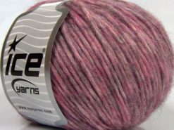 Lot of 8 Skeins Ice Yarns ALPACA COTTON (22% Alpaca Superfine 14% Wool) Yarn Pink Grey Shades