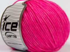 Lot of 8 Skeins Ice Yarns ALPACA COTTON (22% Alpaca Superfine 14% Wool) Yarn Pink