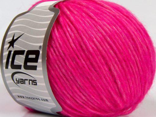 Lot of 8 Skeins Ice Yarns ALPACA COTTON (22% Alpaca Superfine 14% Wool) Yarn Pink