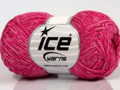 Lot of 8 Skeins Ice Yarns GRAPHITE COTTON (72% Cotton) Yarn Pink Shades