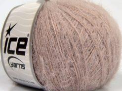 Lot of 8 Skeins Ice Yarns TECHNO FINE Hand Knitting Yarn Powder Pink