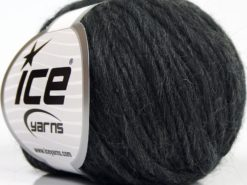 Lot of 8 Skeins Ice Yarns PURE WOOL CHUNKY (100% Wool) Hand Knitting Yarn Black