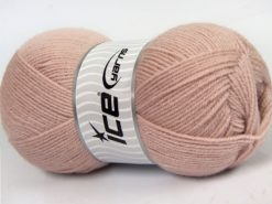 Lot of 4 x 100gr Skeins Ice Yarns SUPER BABY Hand Knitting Yarn Powder Pink