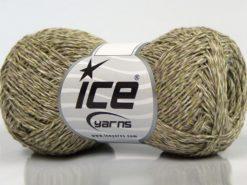 Lot of 8 Skeins Ice Yarns DENIM FINE (100% Cotton) Yarn Light Grey Light Green Light Cream