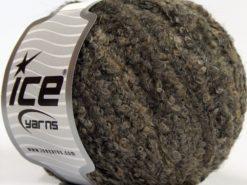 Lot of 8 Skeins Ice Yarns ALPACA BOUCLE FINE (25% Alpaca 25% Wool) Yarn Brown Shades