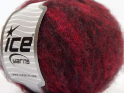 Lot of 8 Skeins Ice Yarns JAGUAR ALPACA (16% Alpaca 24% Wool) Yarn Burgundy Shades