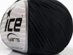 Lot of 8 Skeins Ice Yarns TUBE SOFTY Hand Knitting Yarn Black