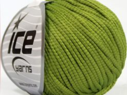 Lot of 8 Skeins Ice Yarns TUBE SOFTY Hand Knitting Yarn Light Green