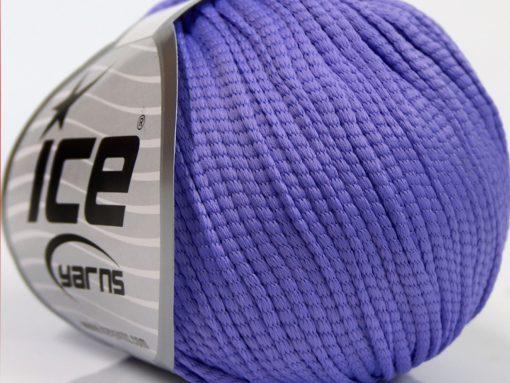 Lot of 8 Skeins Ice Yarns TUBE SOFTY Hand Knitting Yarn Lilac