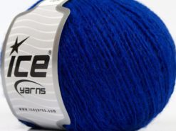 Lot of 8 Skeins Ice Yarns PERU ALPACA LIGHT (25% Alpaca 50% Merino Wool) Yarn Saxe Blue