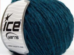 Lot of 8 Skeins Ice Yarns ETNO ALPACA (25% Alpaca 50% Merino Wool) Yarn Teal
