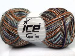 Lot of 8 Skeins Ice Yarns SALE LUXURY-PREMIUM (15% Alpaca 50% Wool) Yarn Blue Orange Black Purple Camel