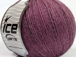 Lot of 8 Skeins Ice Yarns MASTER ALPACA FINE Hand Knitting Yarn Lilac Pink