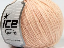 Lot of 8 Skeins Ice Yarns PERU ALPACA LIGHT (25% Alpaca 50% Merino Wool) Yarn Light Pink