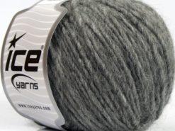 Lot of 8 Skeins Ice Yarns ETNO ALPACA (25% Alpaca 50% Merino Wool) Yarn Grey
