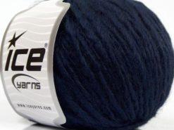 Lot of 8 Skeins Ice Yarns ETNO ALPACA (25% Alpaca 50% Merino Wool) Yarn Dark Navy