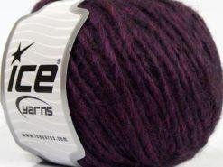 Lot of 8 Skeins Ice Yarns ETNO ALPACA (25% Alpaca 50% Merino Wool) Yarn Purple